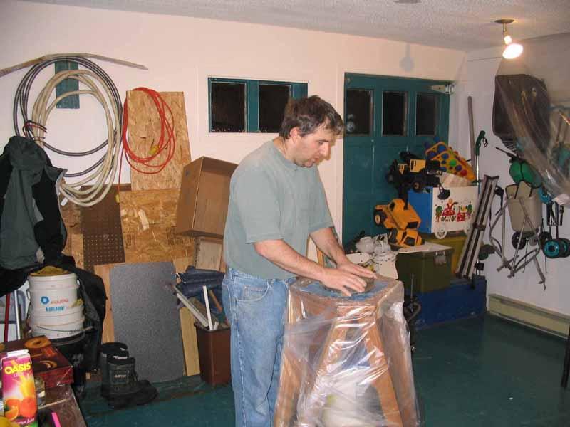 S ance de creusage for Miroir fabrication