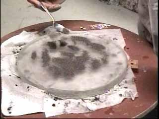 Courses de creusage du miroir for Miroir fabrication