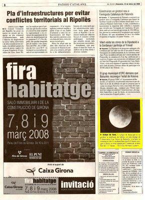 Eclipsi de lluna a El Punt