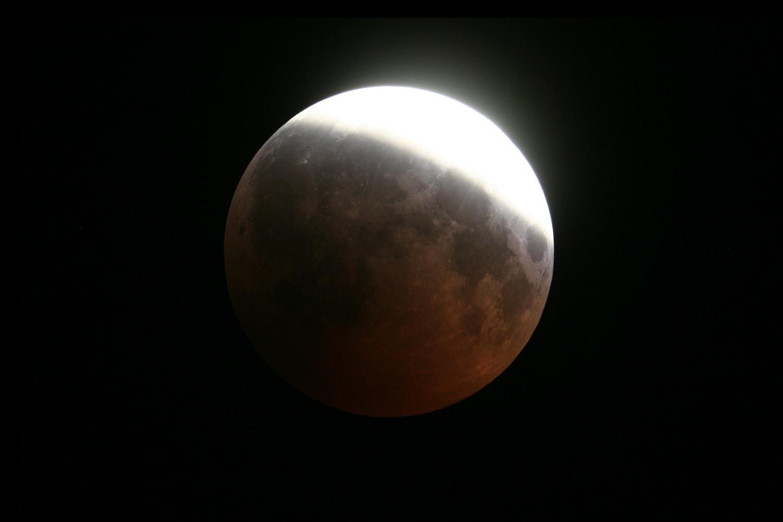 partial lunar eclipse 20080816 Â pedro rÃ