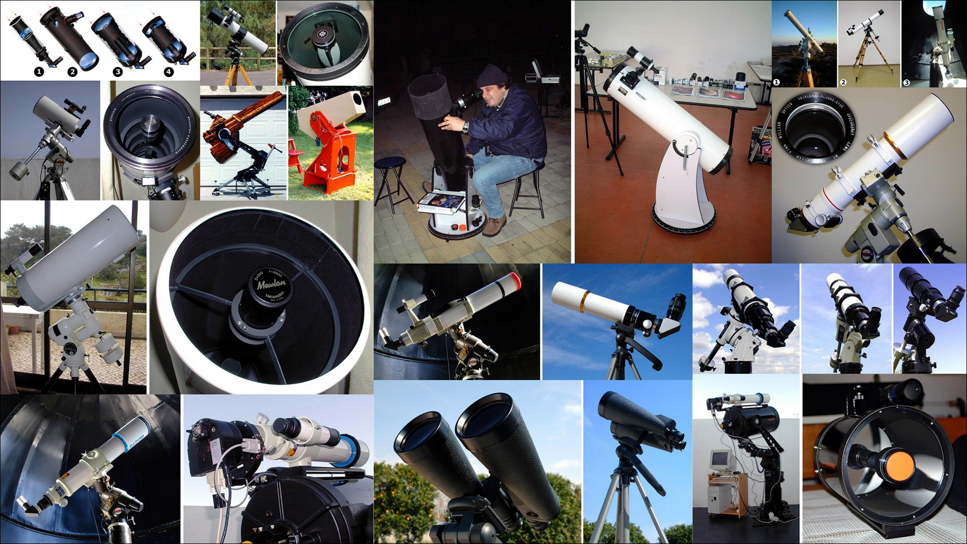 Astronomical telescopes pedro ré s astronomical ccd imaging page