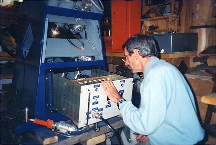 Marc bianchi avait imagin un observatoire sur la montagne for Garage henri marseille