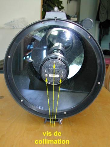 A s c t section astronomie for Miroir cassegrain