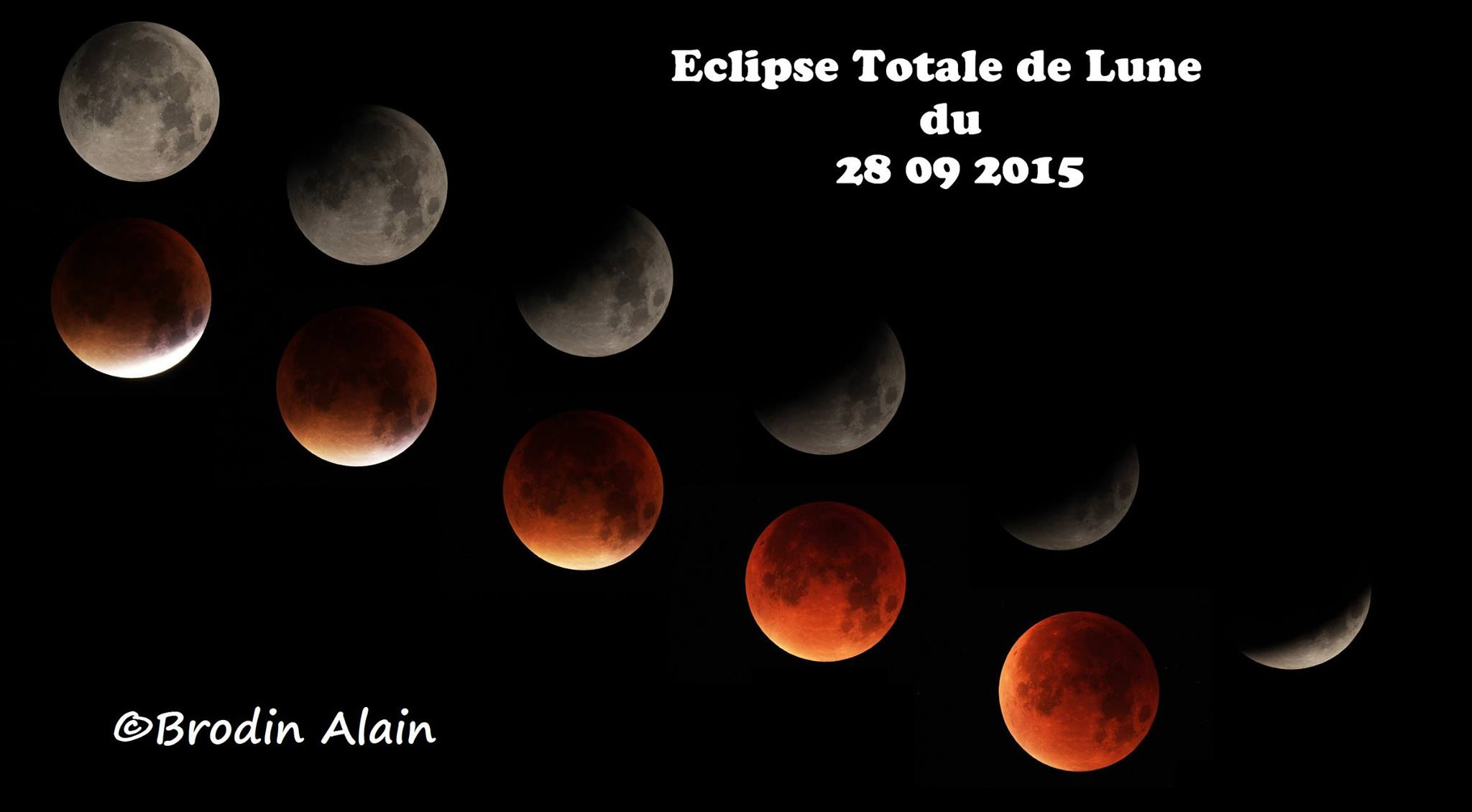 eclipse totale de lune du 28 09 2015