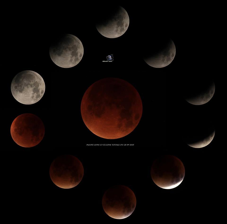 eclipse totale de lune du 28 09 2015