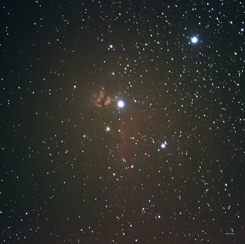 La Flamme dans Orion 21 01 2017