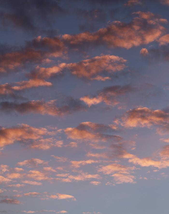 nuages roses de ce soir ;)