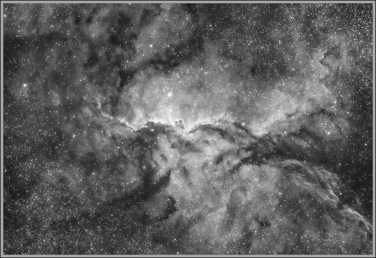 NGC 6188 Space Fighting Dragons H-Alpha