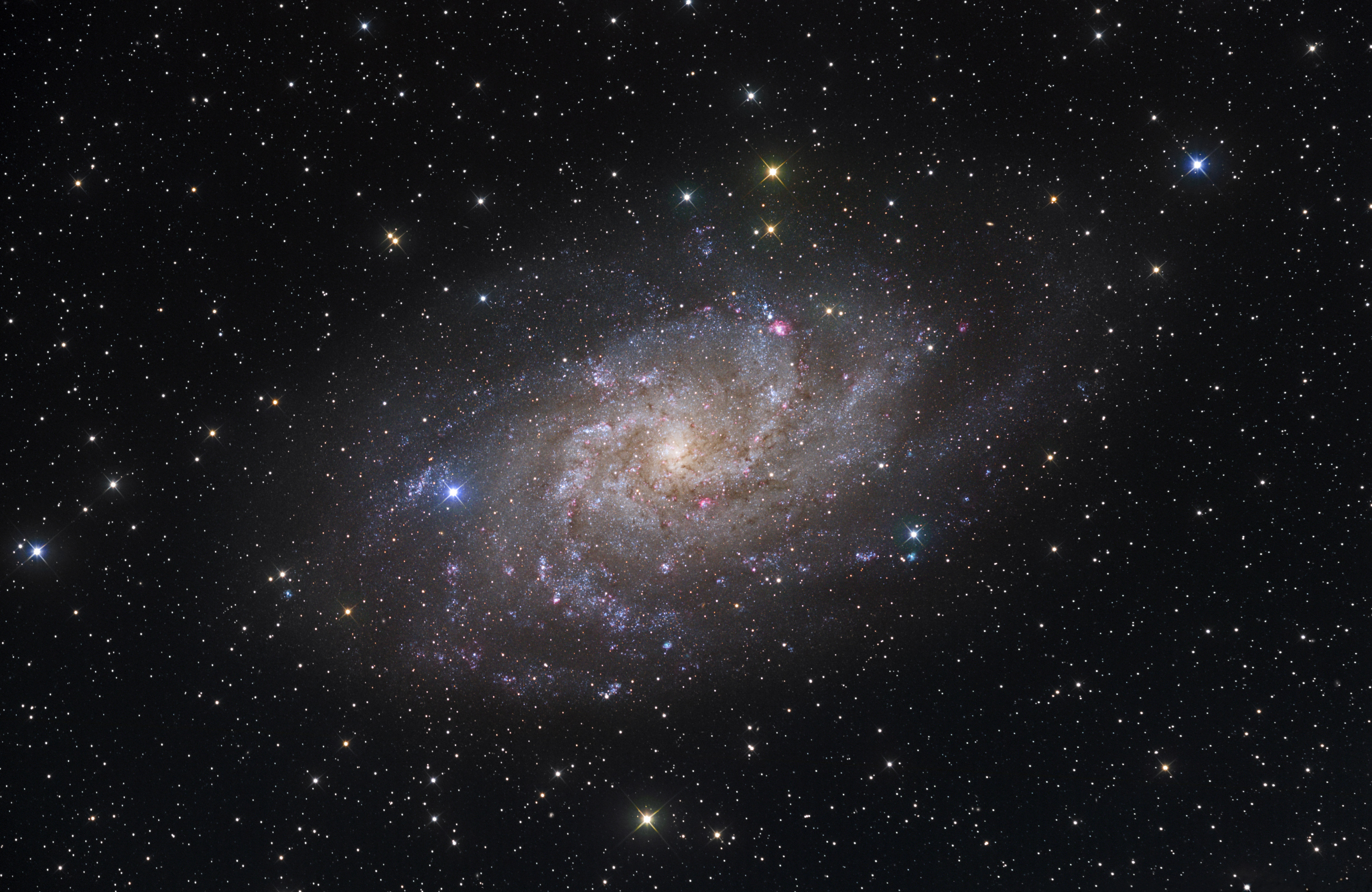 Galaxie du Triangle (M33)