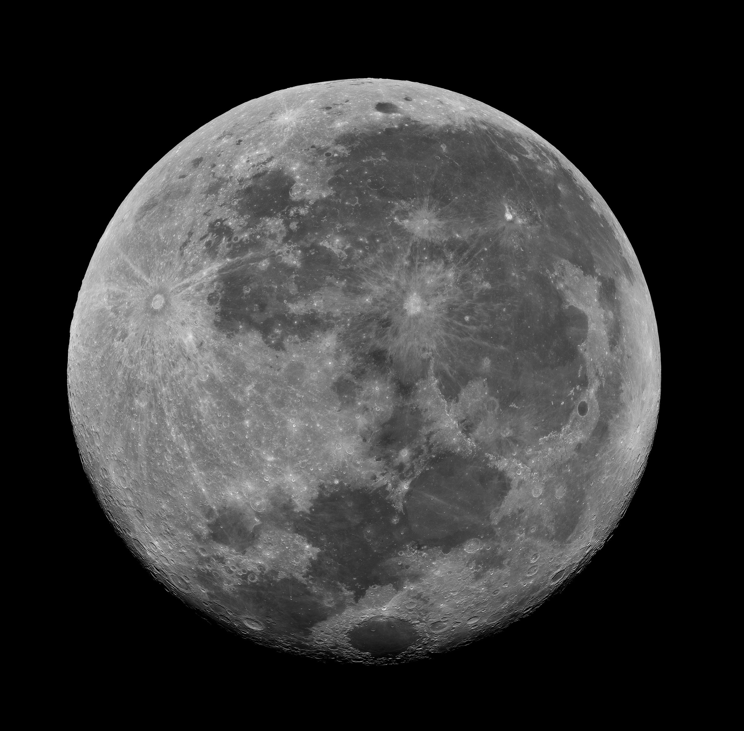 Lune en H-Alpha