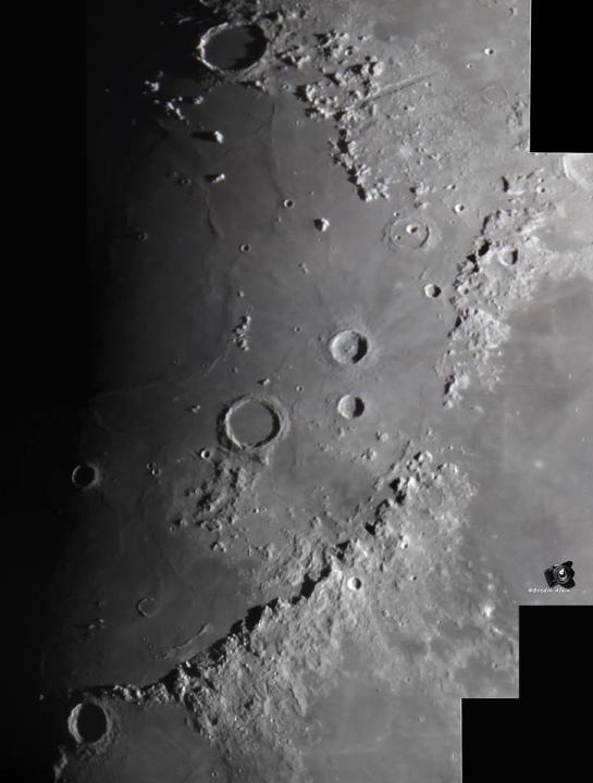 Fragment de Lune 5 partie