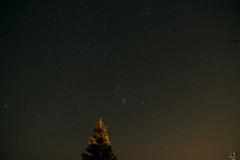 La constellation d'Orion et plus haut celle du Taureau 17 01 2017