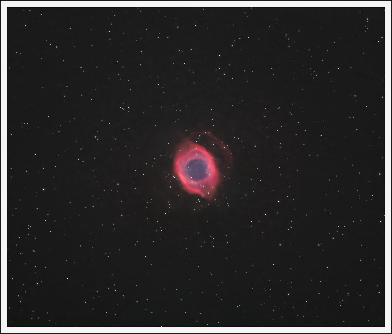 NGC 7293 La Nébuleuse de Hélice ou l'Oeil de Dieu