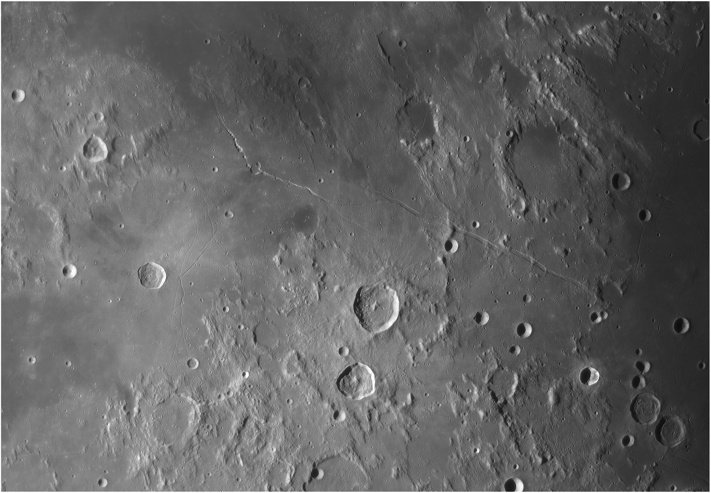 Rainures Hyginus et Ariadaeus