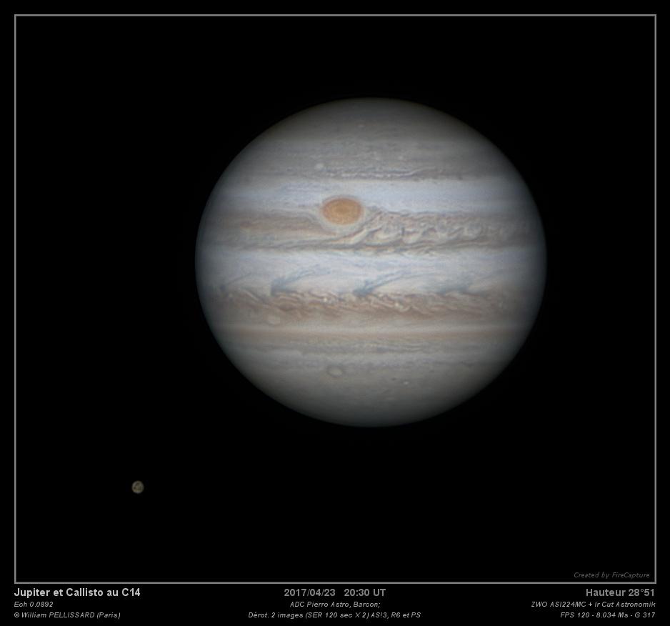 Jupiter - 23/04/2017 20:30TU