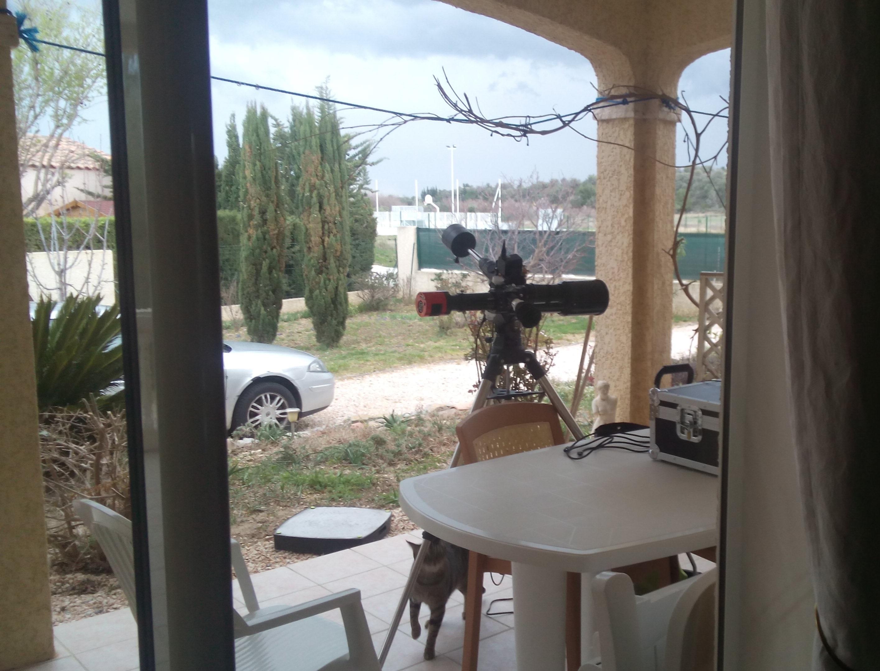 Lunette 80mm pour astrophotographie