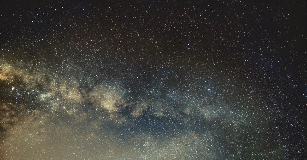 Voie Lactée - L'Aigle et ses copines - Crop