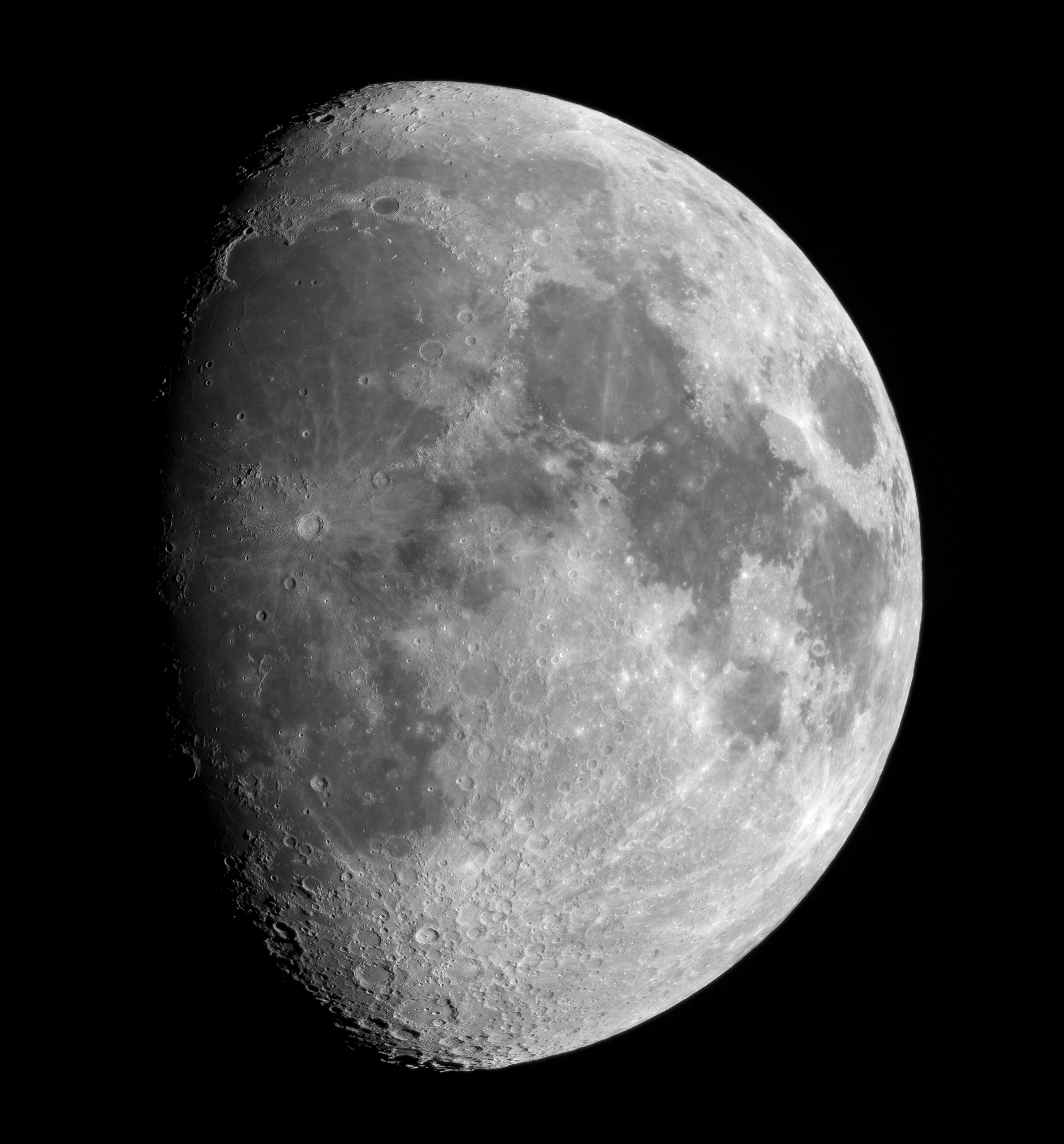 Mosaïque lunaire du 30 octobre 2017