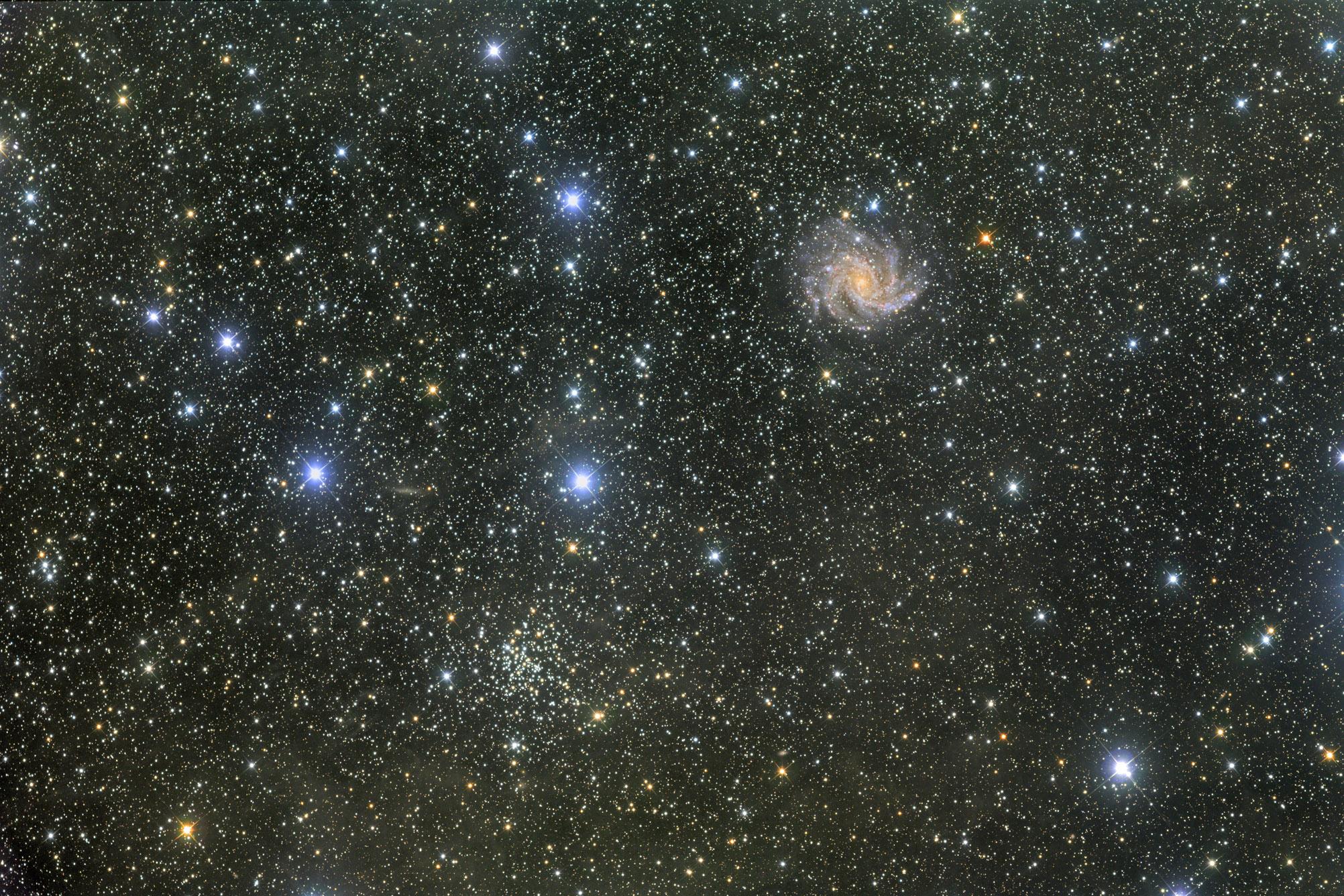 NGC6946 / 6939 LRGB