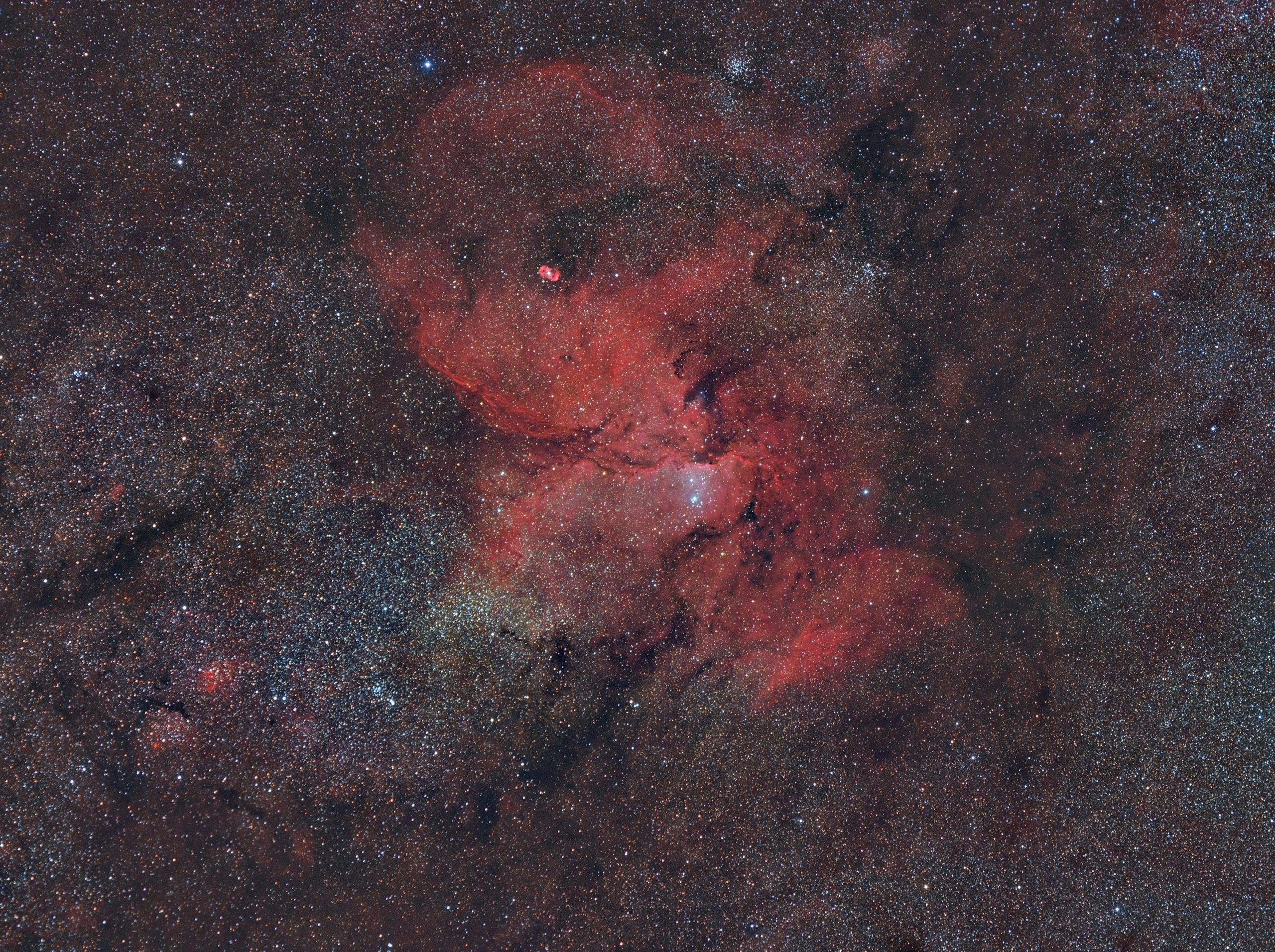 NGC 6188 - HaRGB