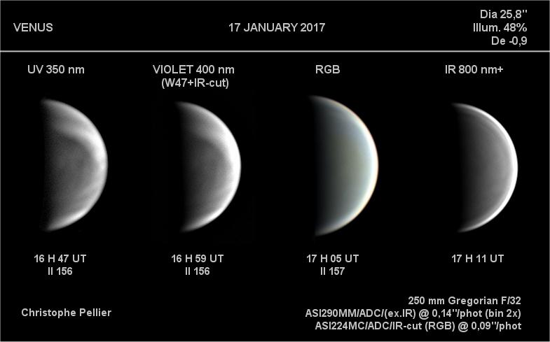 Vénus - 17/01/2017