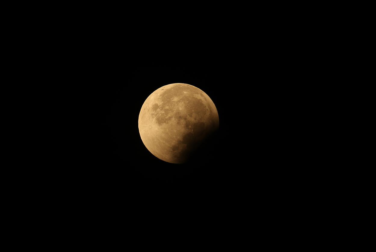 Eclipse de Lune - 28/09/2015
