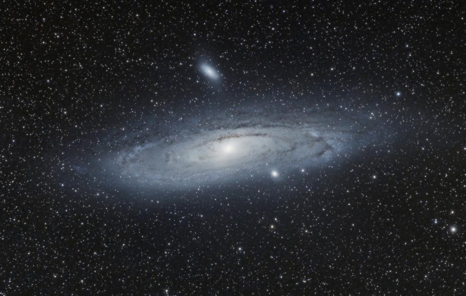 Galaxie Andromede M31 - version 3 crop - Octobre 2017