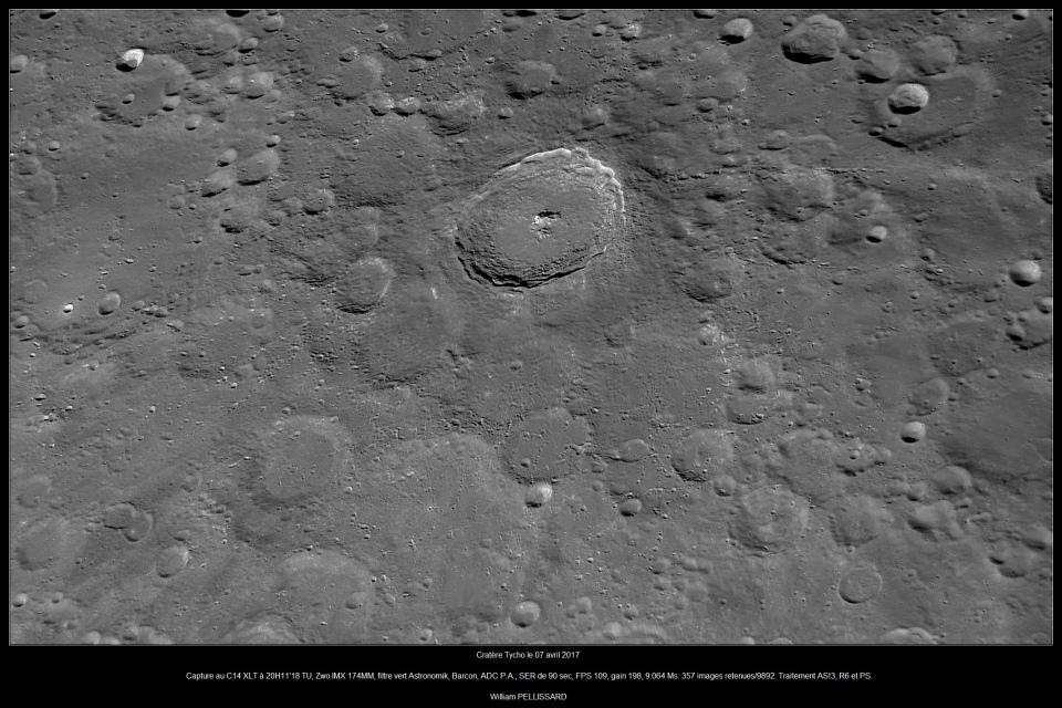 Lune - Tycho - 07/04/2017 20h11TU