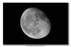 Lune Gibbeuse décroissante 8 octobre 2017