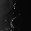 Coucher de soleil sur Archimede et les Mts Spitzberg