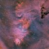 NGC2264 nébuleuse du Sapin de Noël en HOO-RVB