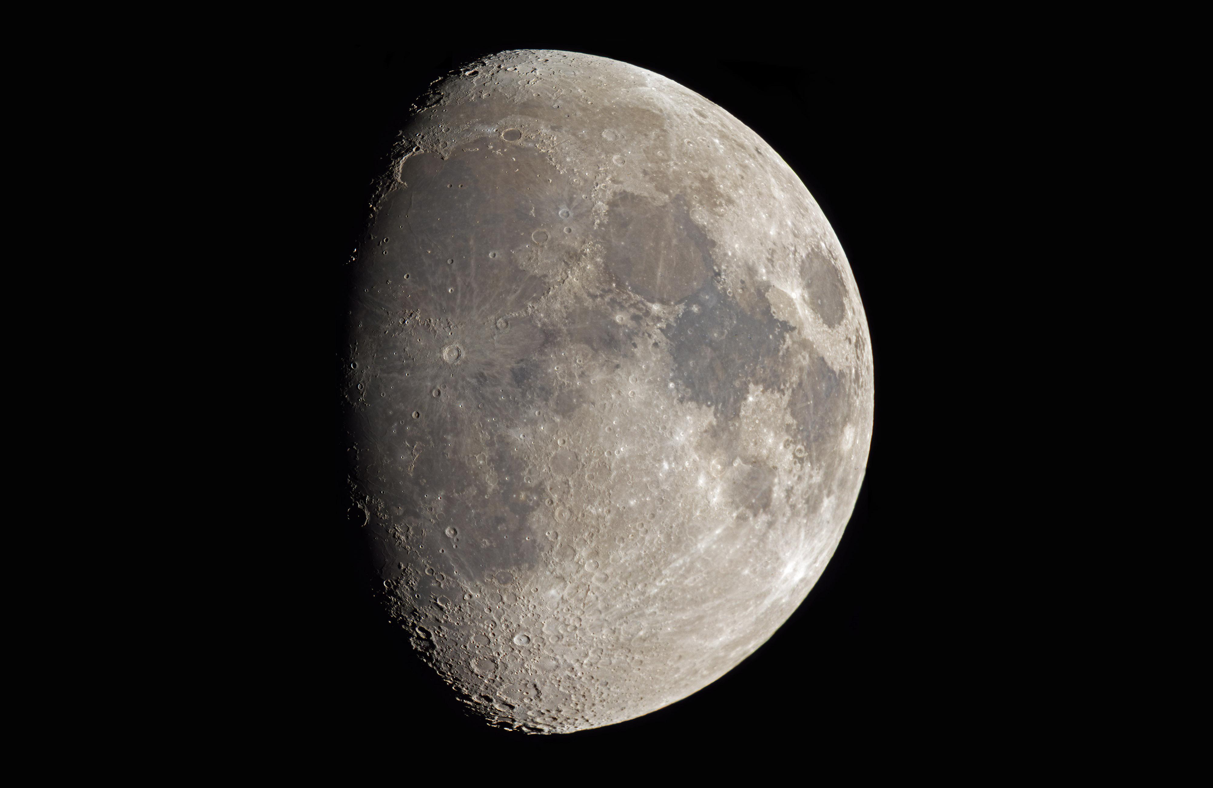 Lune du 30 octobre au t lescope de 150 astrophotographie astrosurf - Lune descendante octobre 2017 ...