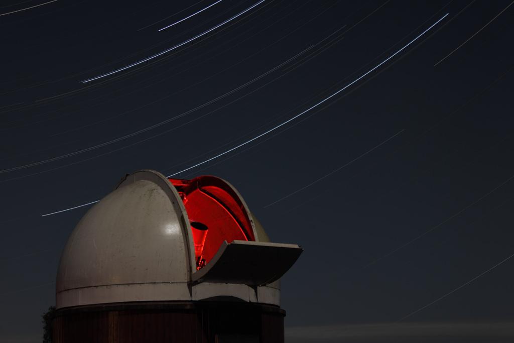 Filé d'étoiles au Centre d'Astronomie de la SAR