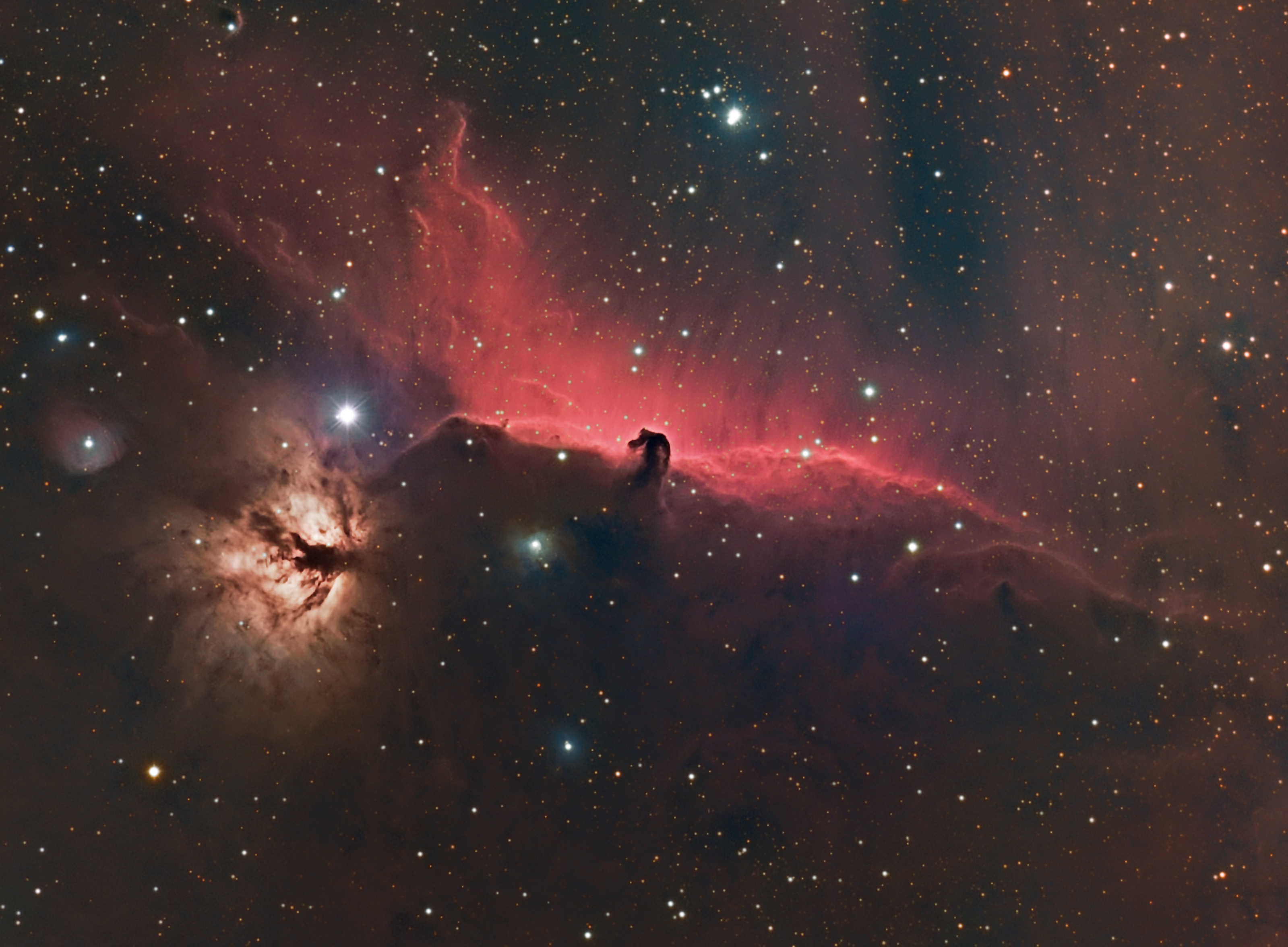 IC434 HA-RGB
