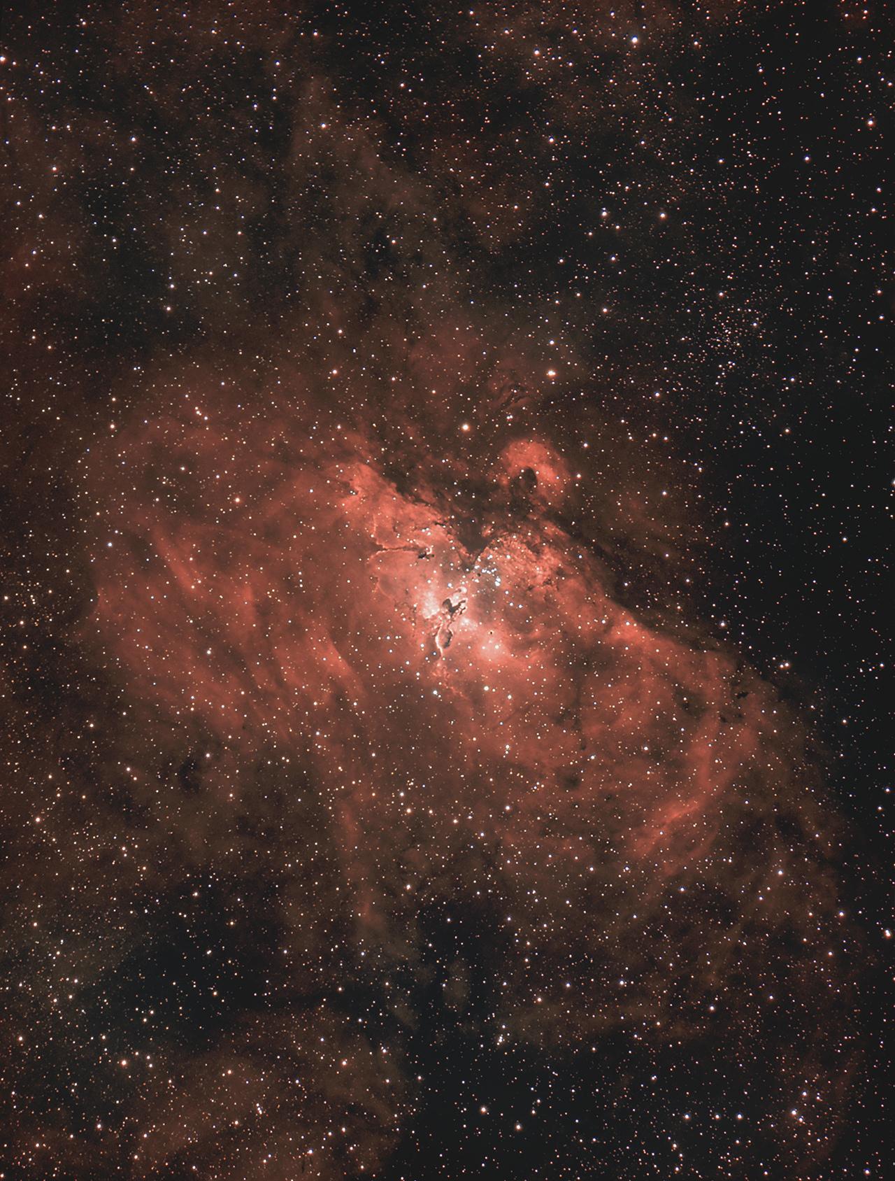 Messier 16 - Eagle Nebula Ha-RHaGB