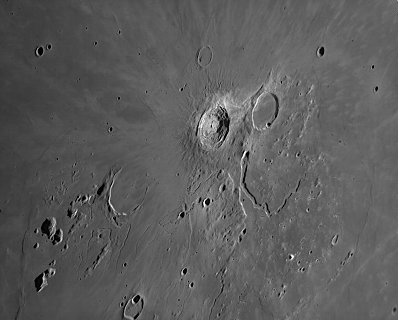 Aristarque. N300 Calern .  le 18/10/2014 .