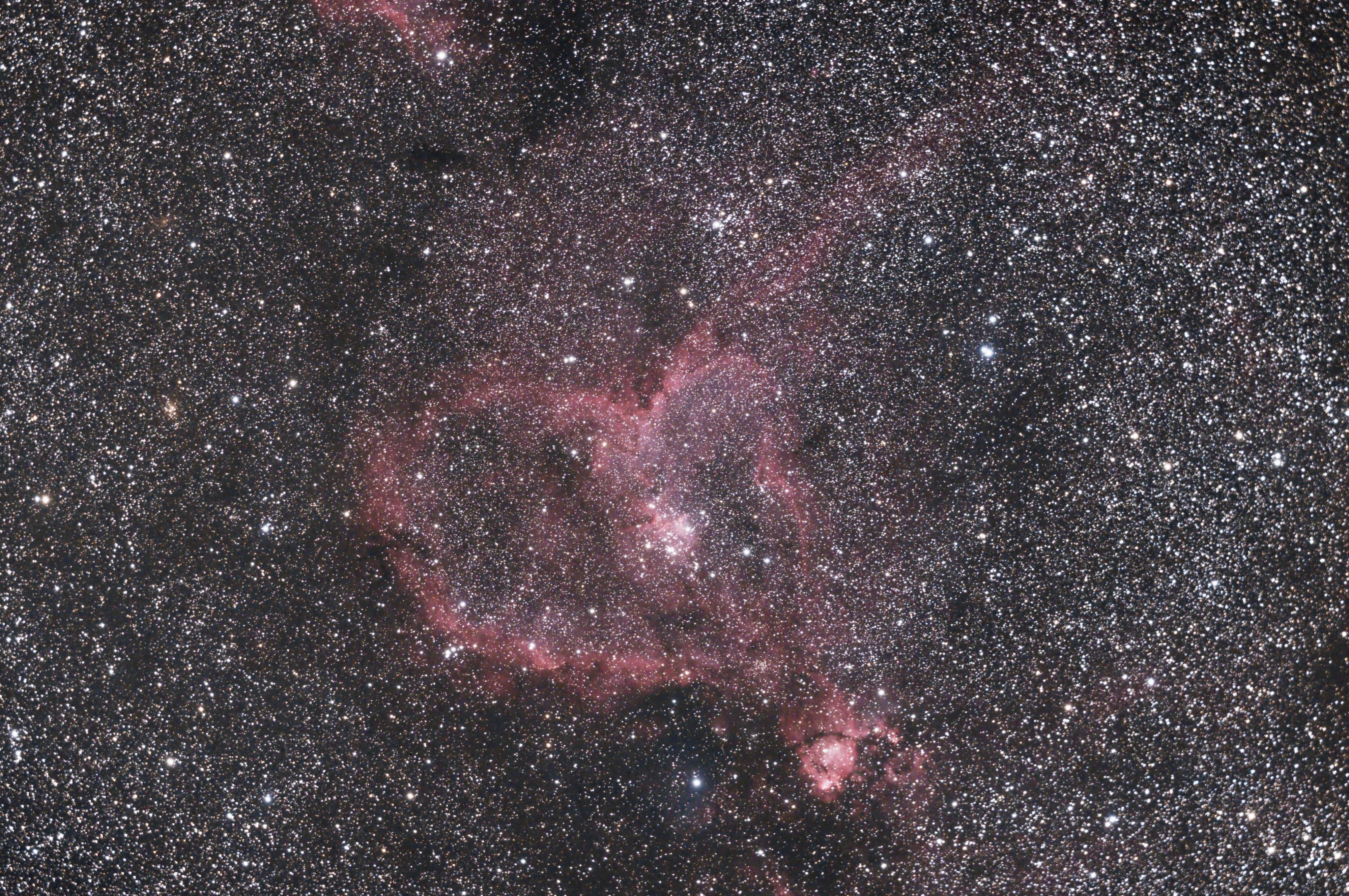 IC1805 - Nébuleuse du cœur