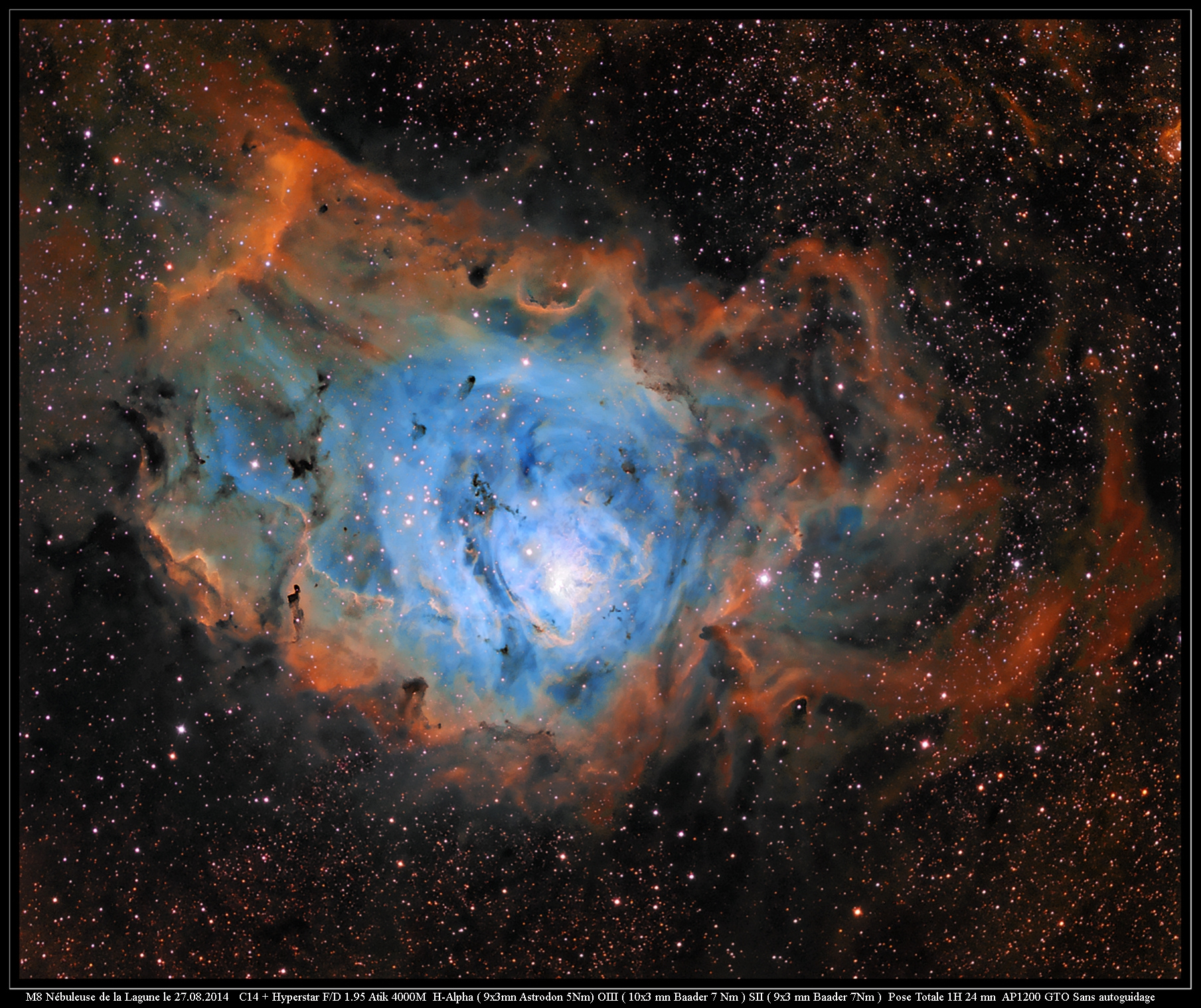 M8  au C14 Hyperstar