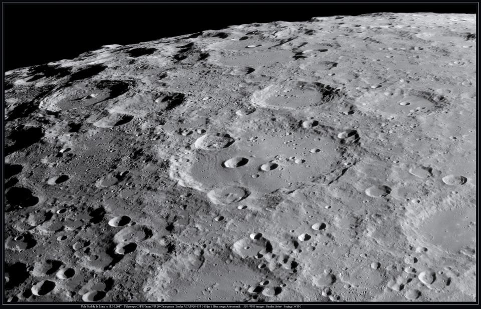 Pole Sud de la Lune avec T350