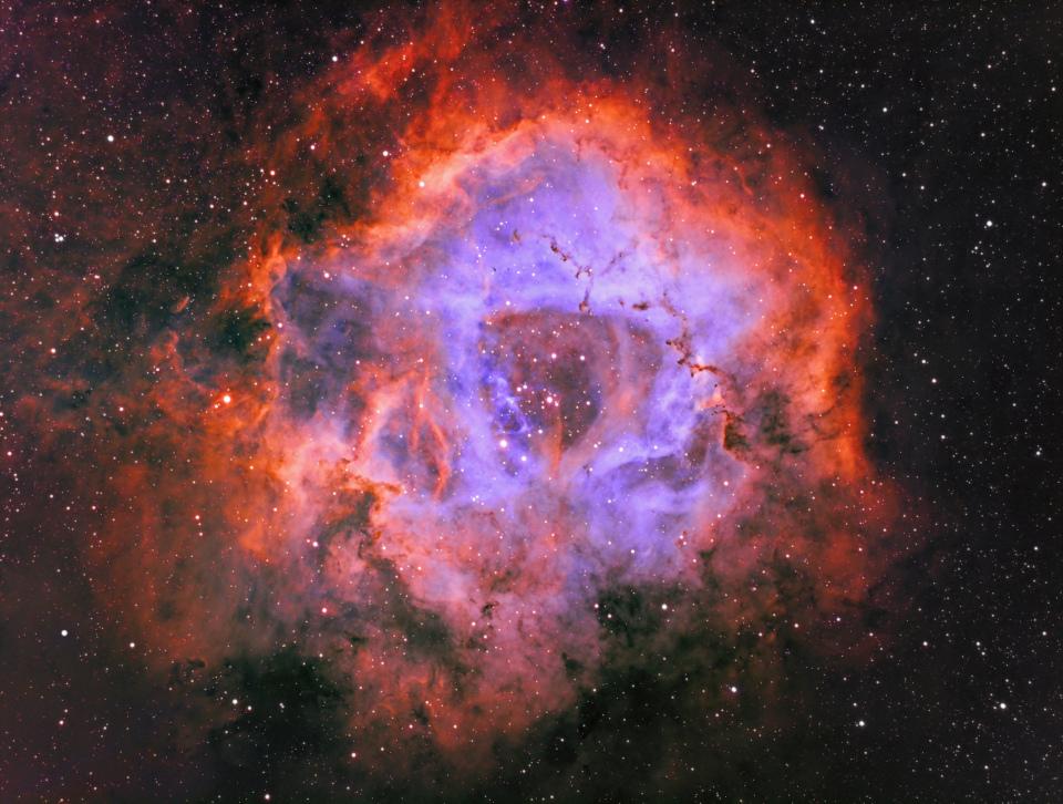 NGC2239 reprise traitement SHO