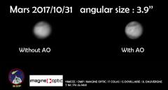 Première lumière de l'optique adaptative au Pic du Midi