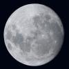 La lune du 2 Novembre 2017, lunette Takahashi de 76mm et Nikon D810, sur trépied photo.
