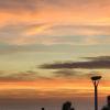 Coucher Soleil - Biarritz Rocher de la vierge - le 23/10/2017 à 19h24