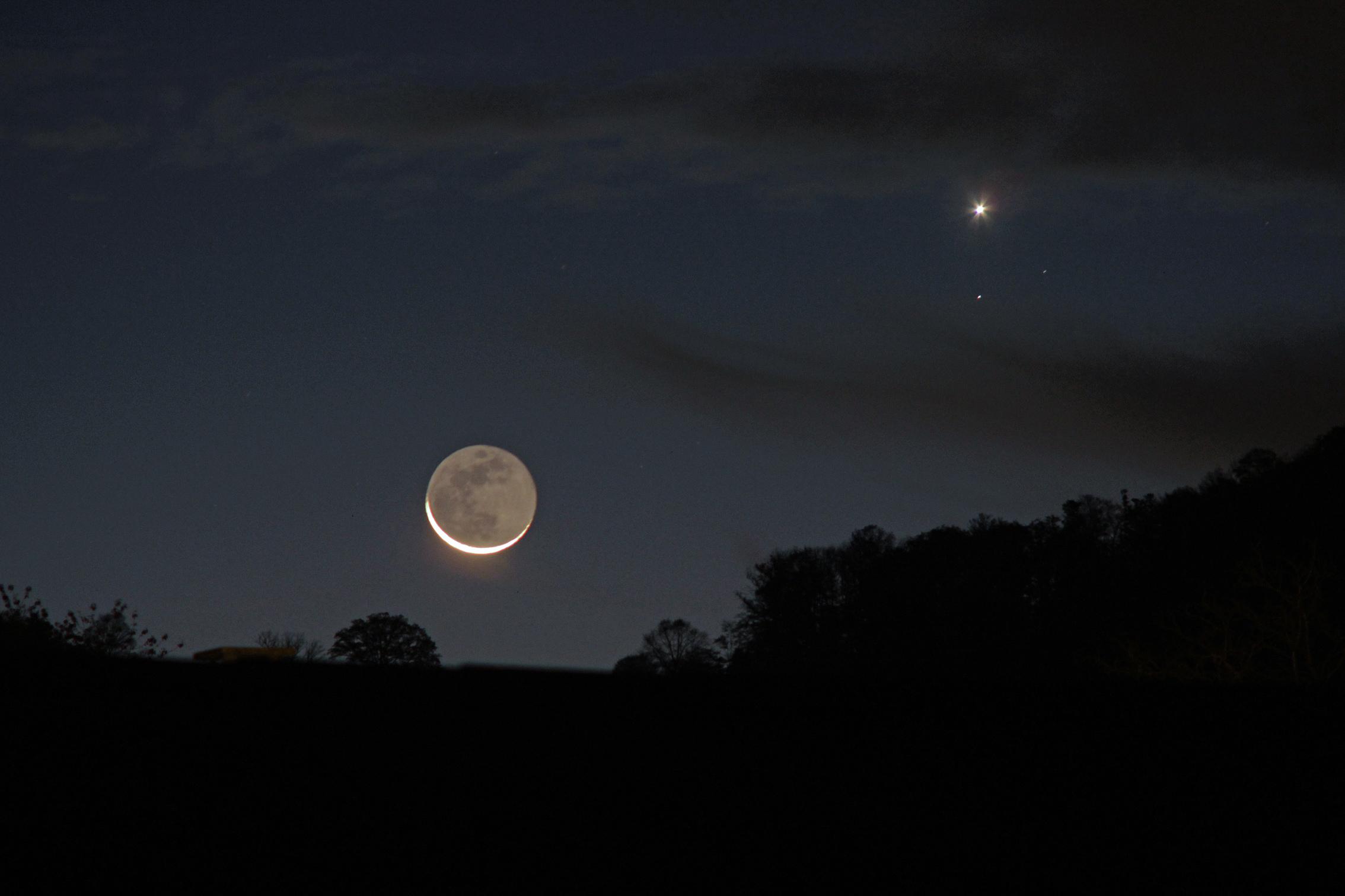 lune et vénus le 18.10.2017
