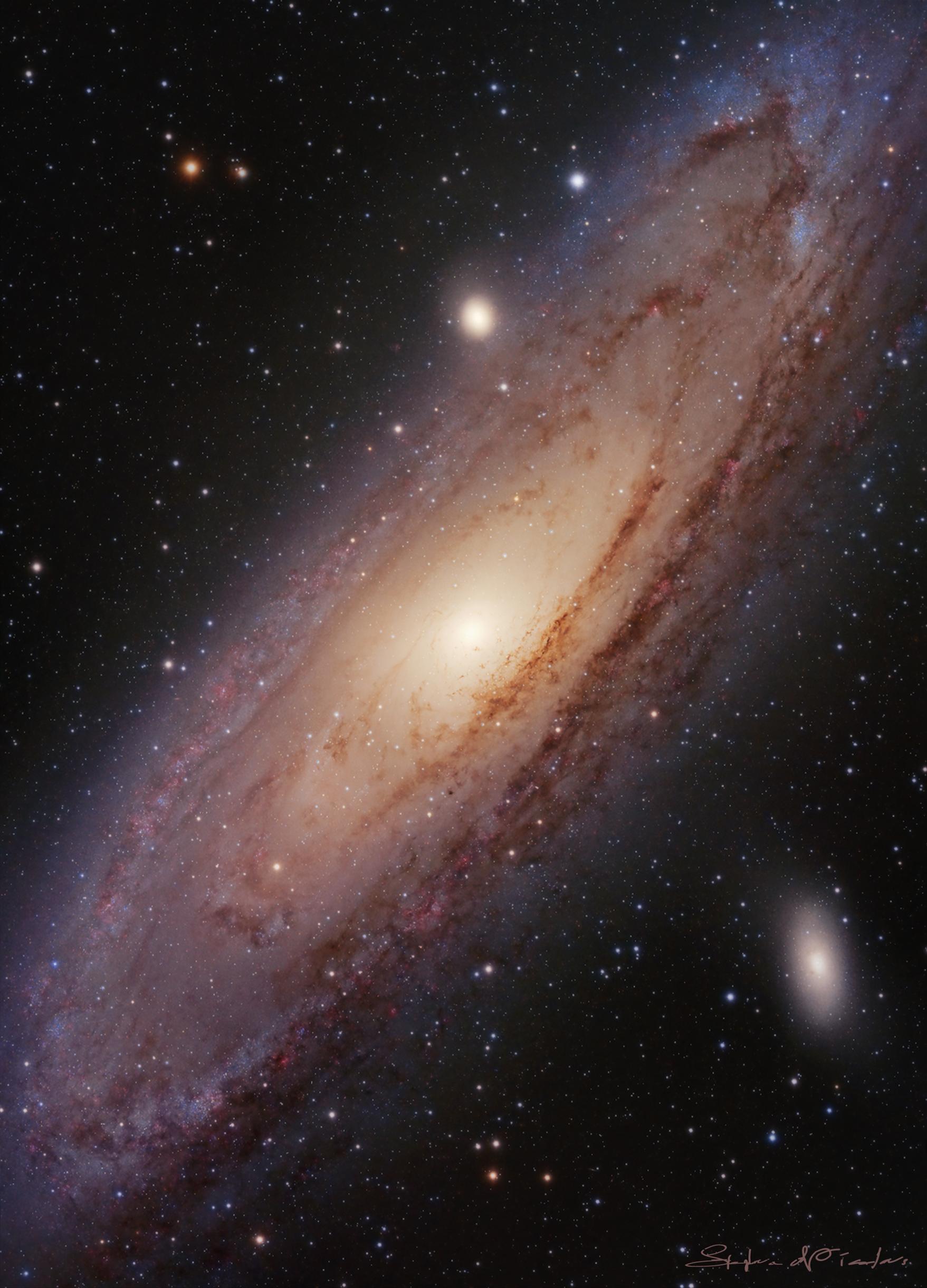 M31 HA-LRGB
