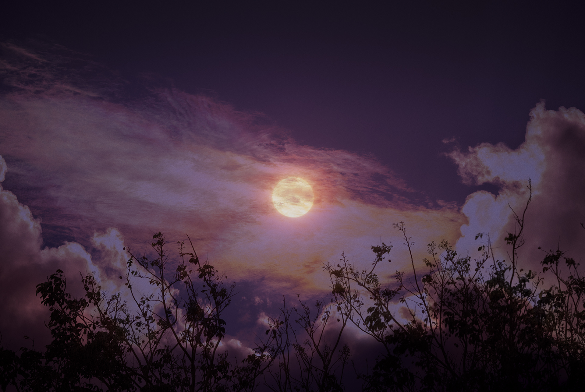 Full Cold Moon 3 décembre 2017