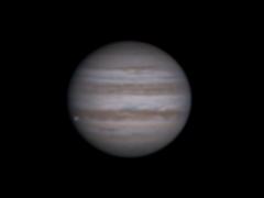 Jupiter  et  Io  . N400  le  28/12/2017 .