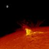 Éruption solaire  (M 5.5) - 23 juillet 2016
