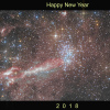 Carène - NGC3532 - Whishing Well Cluster - Happy new year 2018