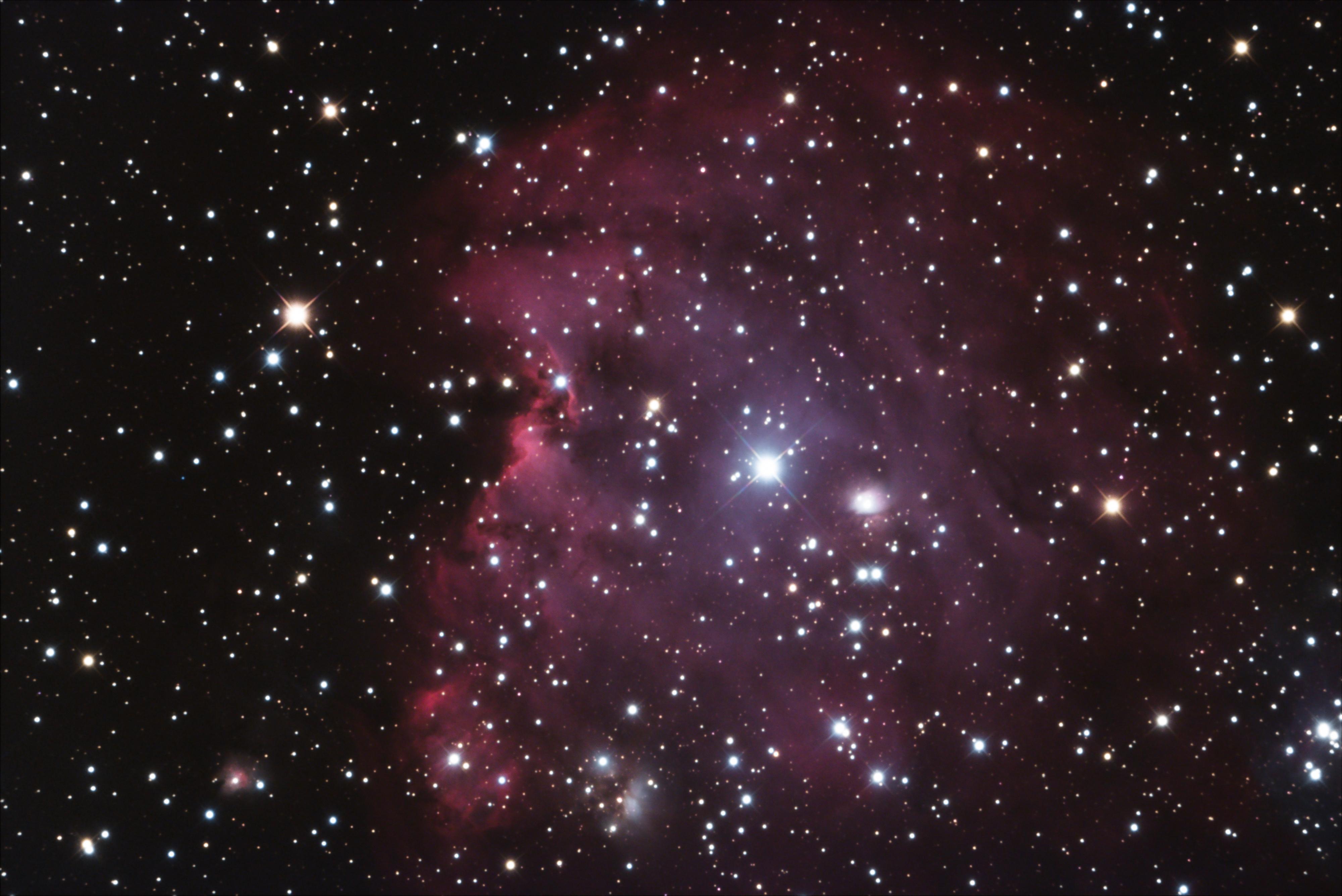 Nébuleuse de la tête de singe (NGC 2174)